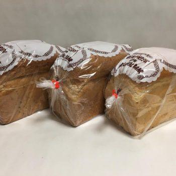 uncut bread