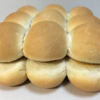 white buffet roll 40g