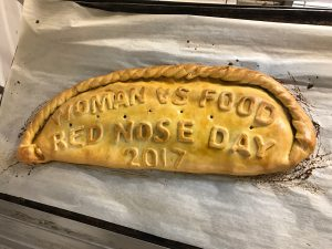 red nose day pasty