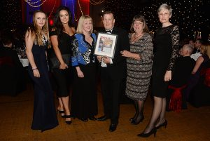 Highly commended for Medium Business of the Year, Friary Mill. Herald Business Awards 2017 at the Plymouth Pavilions. Picture: Matt Gilley.